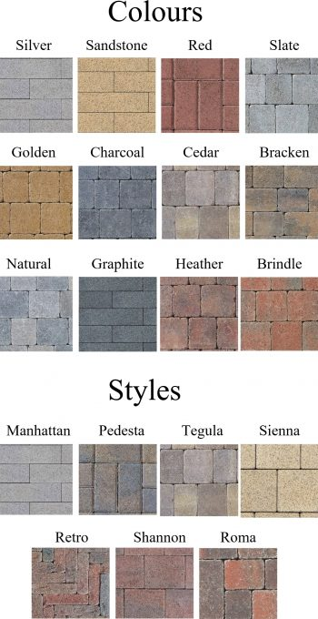 stone colours
