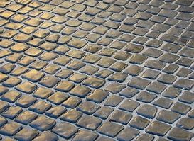 cobble paving by Jack's Paving Compnay